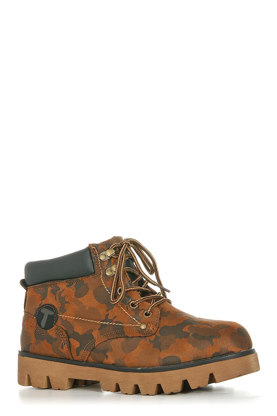Ботинки TOPLAND2322-PB76186F/BROWN