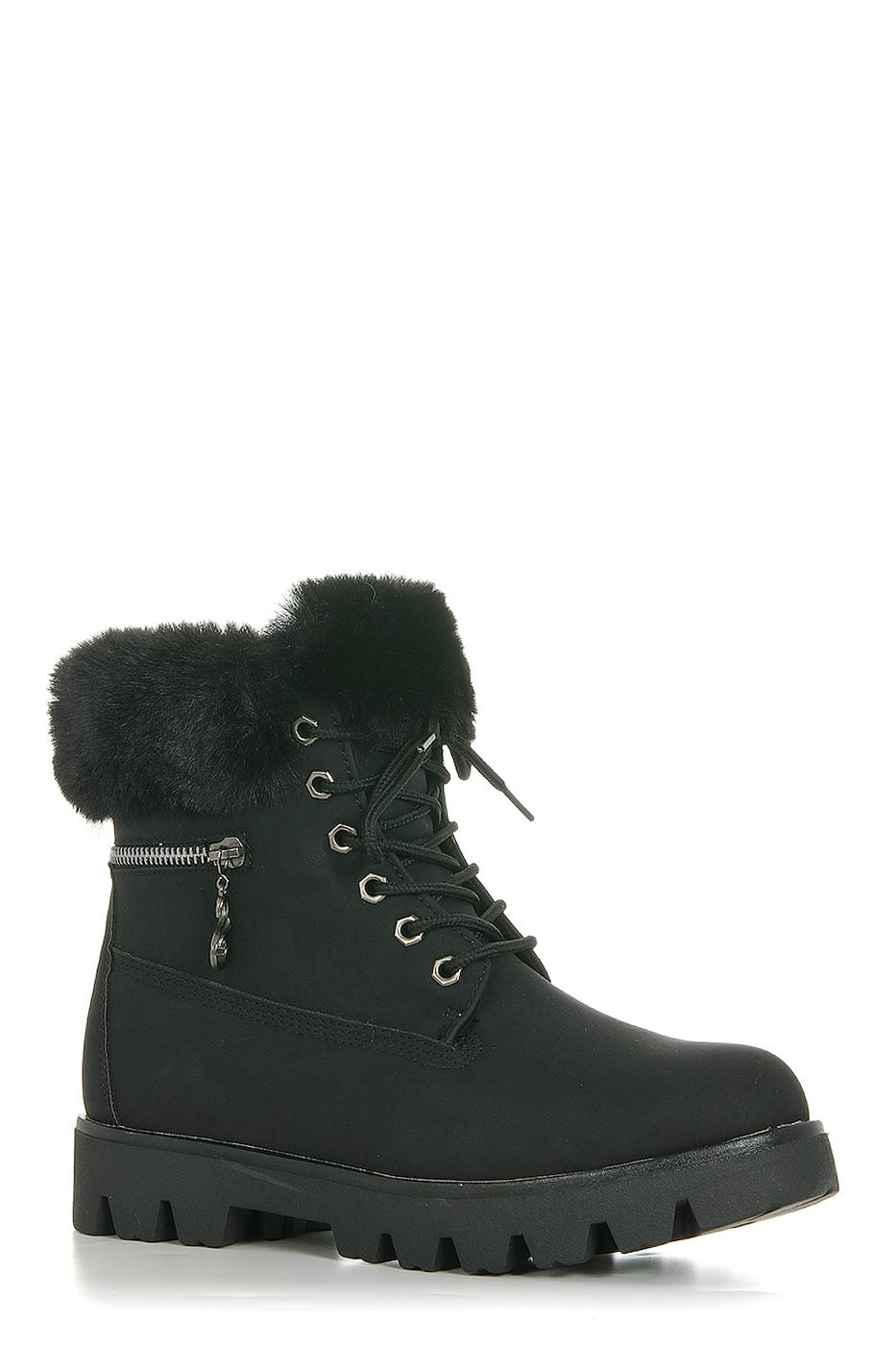 Ботинки TOPLAND2322-PB76254B/BLACK