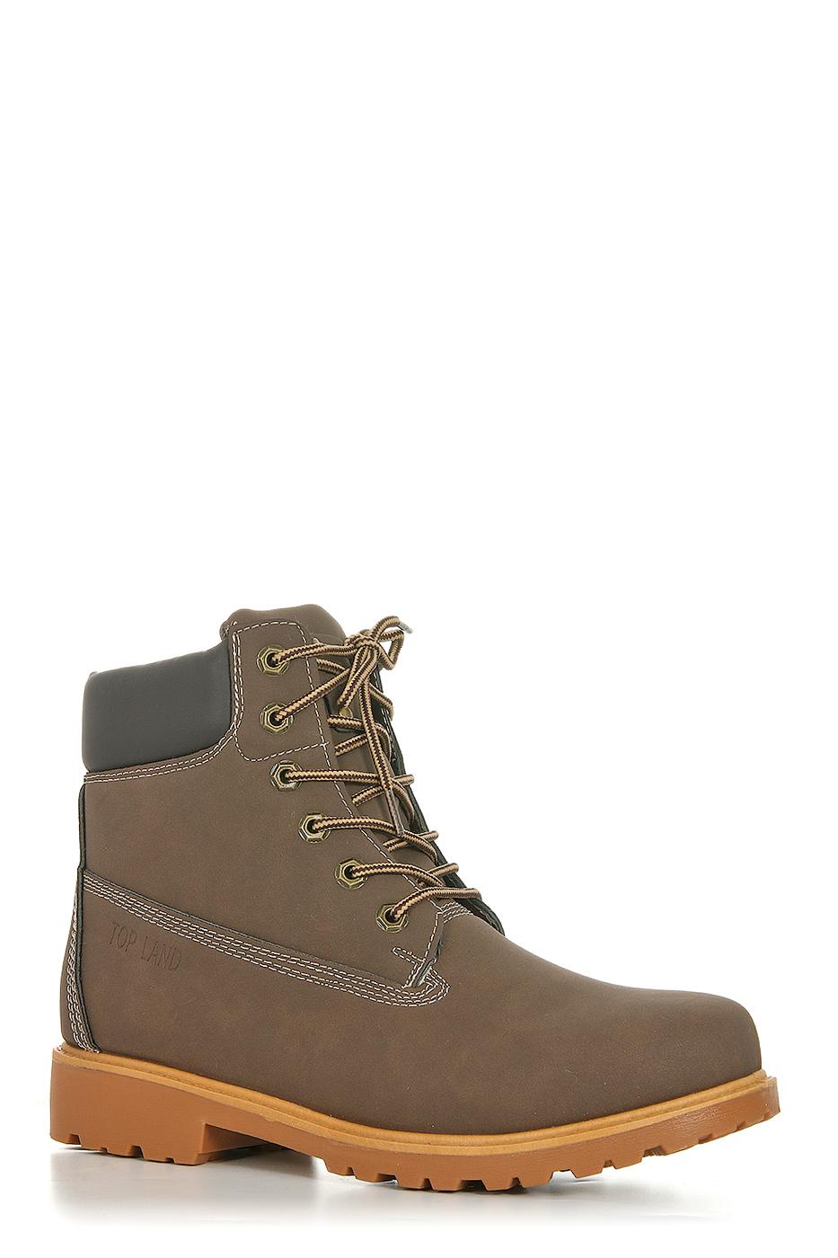 Ботинки TOPLAND1323-PB76214F/BROWN