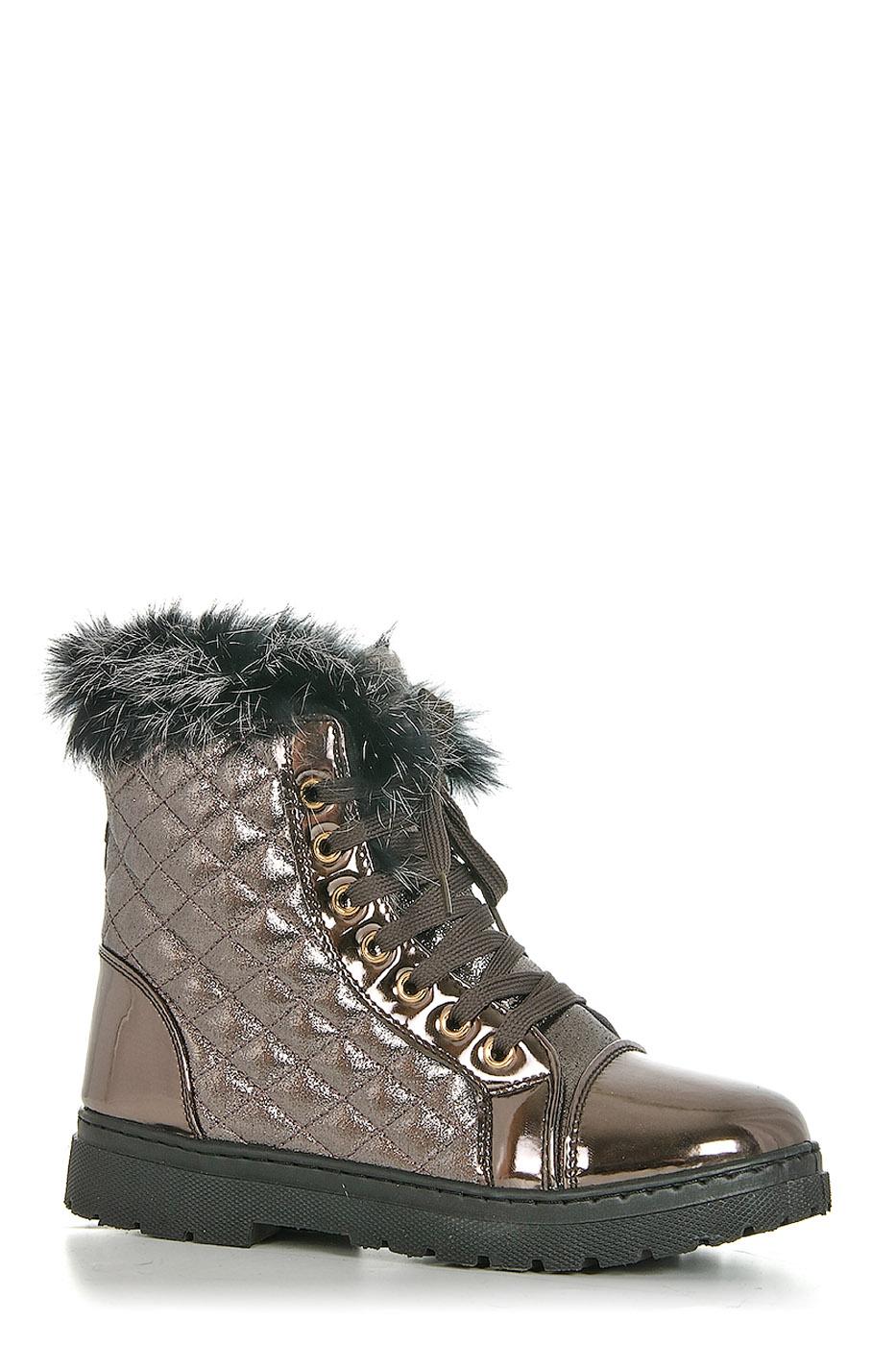 Ботинки TOPLAND2352-PB-72503S/SILVER
