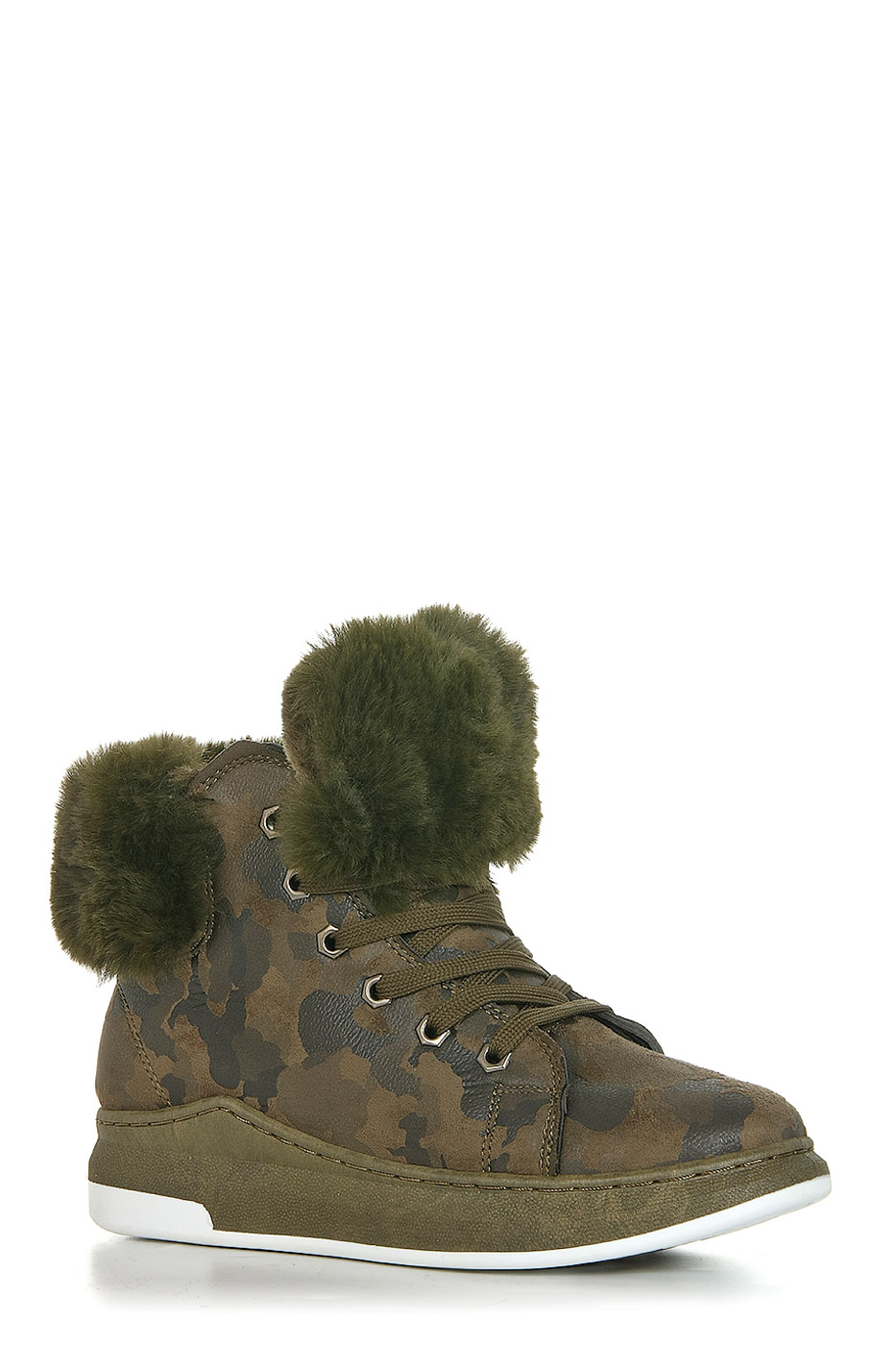 Ботинки TOPLAND2352-PB76177X/GREEN